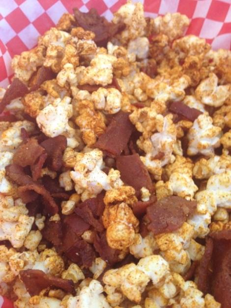 #bbqrub #popcorn #bacon
