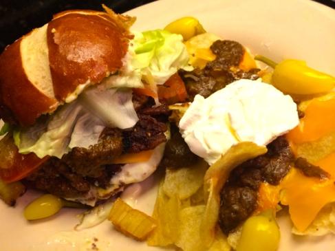#bbqrubs #chilibaconcheeseburger